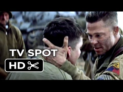 Fury TV SPOT - Recruits (2014) - Brad Pitt, Logan Lerman War Movie HD