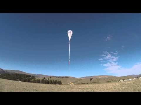 LIFT-OFF! NZ Super Pressure Balloon launch