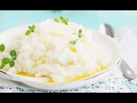 Ну, очень вкусная - рисовая каша  на молоке/rice porridge with milk