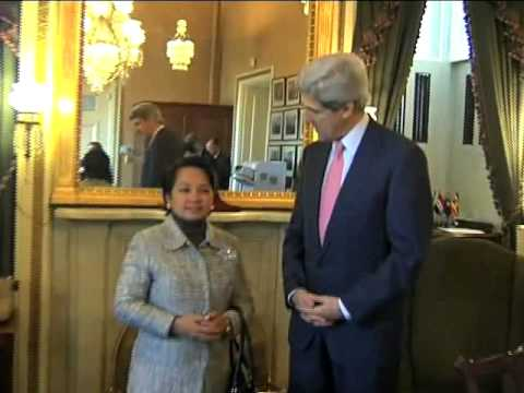 Meeting with Sen. John Kerry