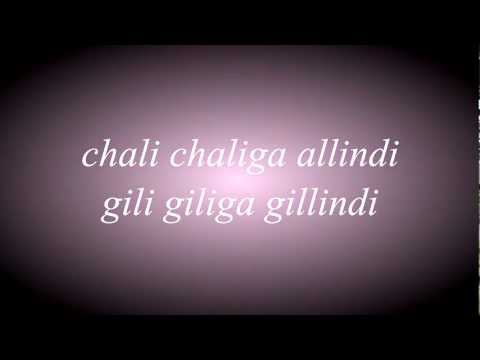 Chali Chaliga Gillindi By Prem And Sneha video