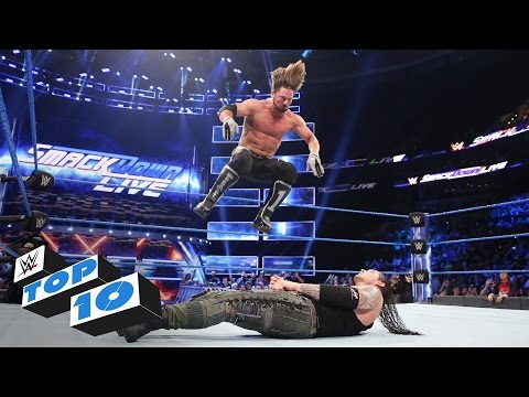 Top 10 SmackDown LIVE moments: WWE Top 10, Apr. 11, 2017 thumbnail