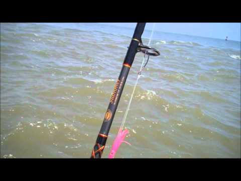 Tarpon fishing off Winyah Bay Georgetown SC / Barrier Island Guide Service
