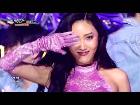 뮤직뱅크  Bank - 멍청이twit - Hwasa화사20190215