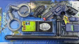 Toys for kids !Toy Gun Police set  Video for kids