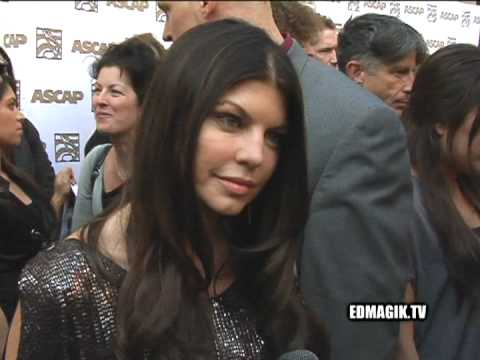Fergie at ASCAP Pop Music Awards 2009