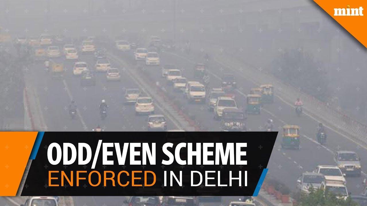As toxic smog suffocates Delhi, Odd-Even scheme enforced