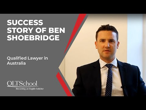 Success Story Of Ben Shoebridge - QLTS School's Former Candidate