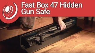 SecureIt Tactical FB-47-01 Fast Box 47 Hidden Gun Safe