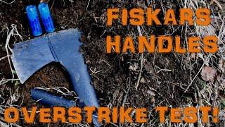 Fiskars Chopping Axe | Overstrike Test | Shotgun Test!