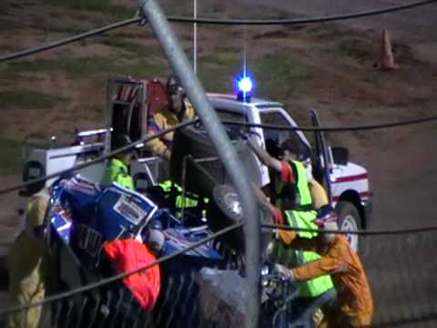 Wild Bill Fraser 360 Sprintcar Crash!