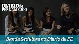 Banda Sedutora fala sobre expectativas para o DVD em entrevista ao Diario de PE