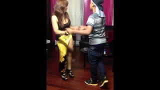My Mom And Me Dancing Bachata ;)