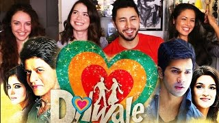 DILWALE | SHAH RUKH KHAN | Trailer Reaction Discussion 4WAY