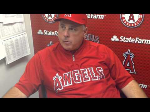 9-8 Mike Scioscia Angels manager