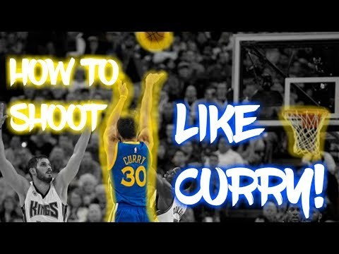 STEPHEN CURRY SHOT TUTORIAL