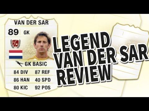 Fifa 14 Legend Edwin Van Der Sar 89 Player Review & In Game Stats