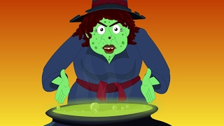 Scary witches for kids