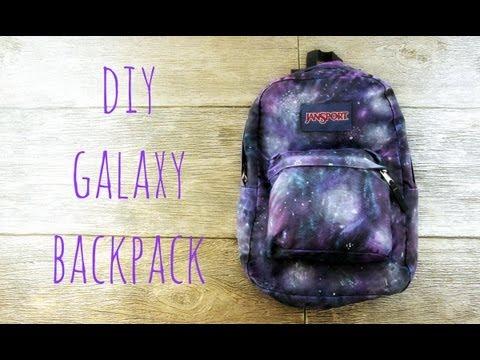 DIY Galaxy Backpack