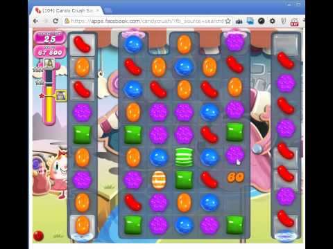Candy Crush Saga Level 88 CRAZY DOUBLE COLOR BOMB COMBO