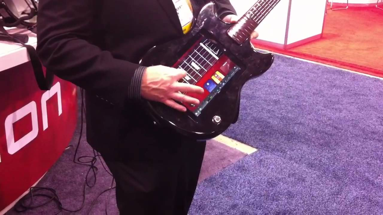 ION Guitar Apprentice demo at CES 2012 - YouTube