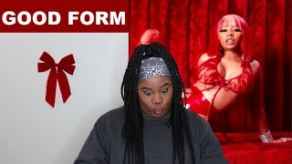 Nicki Minaj - Good Form music video & MAMA |REACTION|