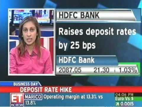 HDFC, Corporation Bank hike deposit rates; others to follow
