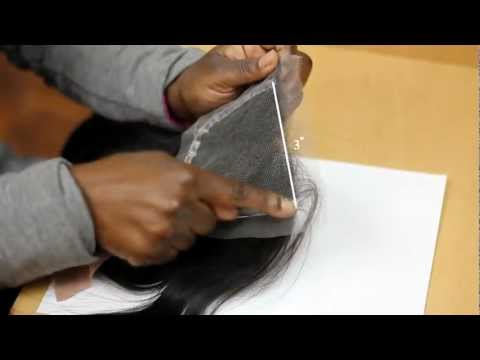 Create a natural looking base on lace closure usin