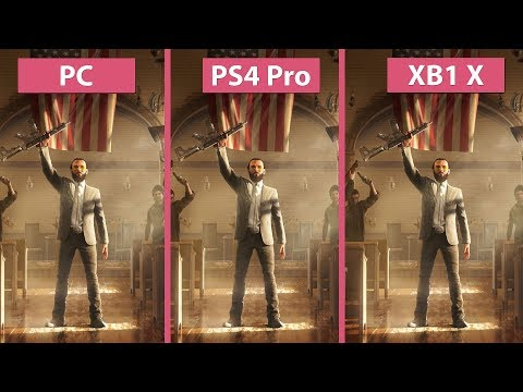 [4K] Far Cry 5 – PC Ultra vs. PS4 Pro vs. Xbox One X Graphics Comparison