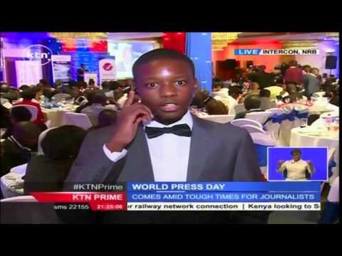 KTN's Dennis Otieno with live update on Media Council of Kenya Awards ceremony