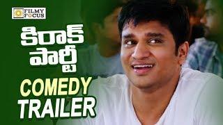 Kirrak Party Movie Comedy Trailers    Back to Back    Nithin, Samyuktha, Simran