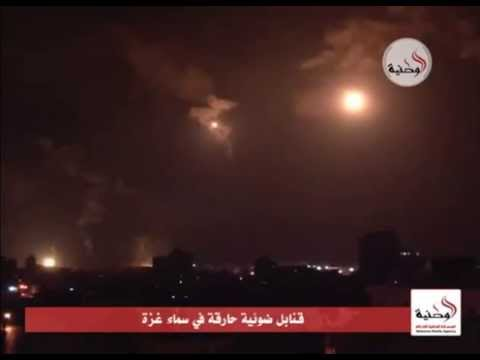 Israel Palestine Conflict 2014: Bombs Sky Over Gaza On 29 July 2014 | RAW VIDEO