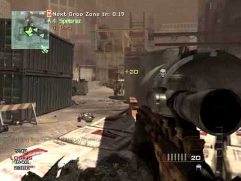 MW3 4MAN EPIC KILL - Dirty Rear
