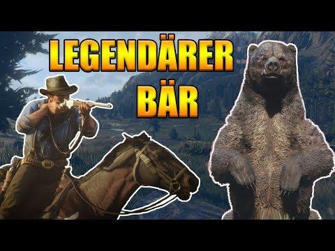 Legendäre Tiere jagen in Red Dead Redemption 2 - Legendärer Bär