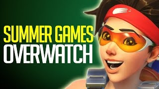 """Overwatch - Summer Games Patch """"New Exclusive Skins, Voice Lines, Highlight Intros & More"""""""