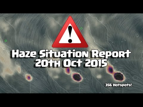 Haze news 20 Oct 2015 (8.36 pm Singapore time) #SGHAZE