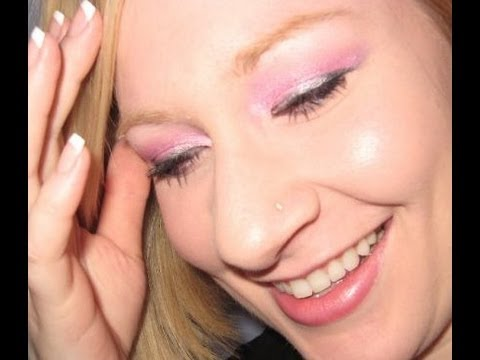 Valentine's Day Pink Make Up Tutorial Look 2011