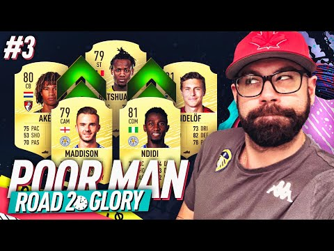 BEST PREMIER LEAGUE STARTER SQUAD! INVESTMENTS! - POOR MAN ROAD TO GLORY #3 - FIFA 20 Ultimate Team