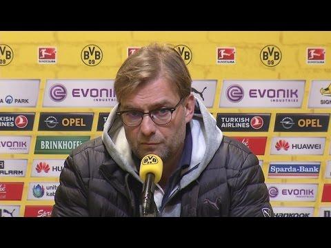 Pressekonferenz: Jürgen Klopp vor dem Heimspiel gegen den VfL Wolfsburg | BVB