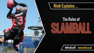 The Rules of Slamball (Trampoline Basketball) - EXPLAINED!