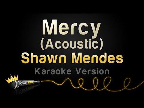 Shawn Mendes - Mercy (Acoustic) (Karaoke Version)