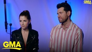 Anna Kendrick and Billy Eichner star in a new holiday film, 'Noelle' | GMA Digital