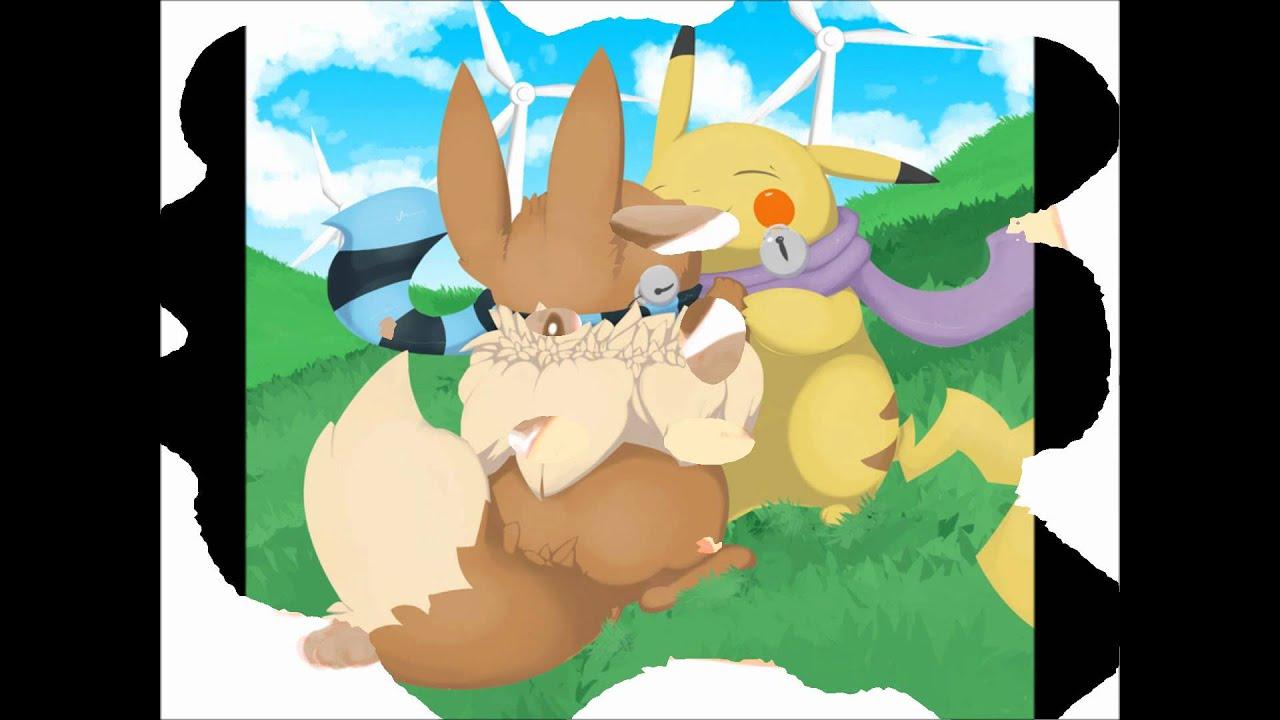 Eevee x Pikachu