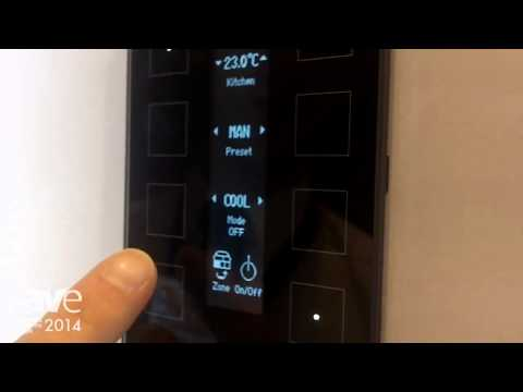 ISE 2014: TELETASK Shows Off Its 8-Button Home Automation Key Pad