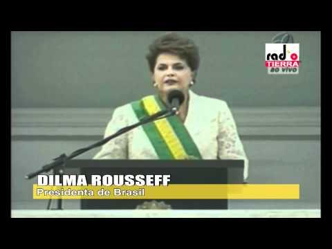Dilma Rousseff asume como Presidenta de Brasil