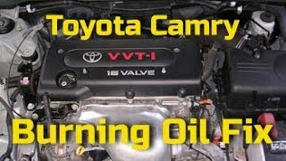 CAMRY BURNING OIL FIX, Toyota 2.4 Camry/ Rav-4 Burning Oil Fix