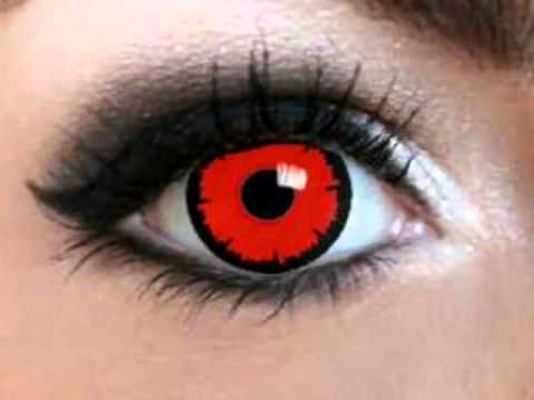 influenza and burning red eyes