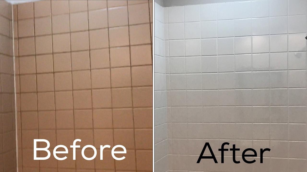 Reglazing ceramic tile