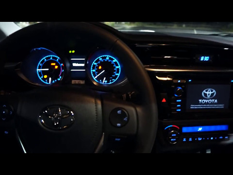 2014 Toyota Corolla S 6-speed Manual Start up and walk around review