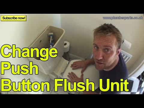 0 HOW TO CHANGE A PUSH BUTTON FLUSH UNIT   Plumbing Tips